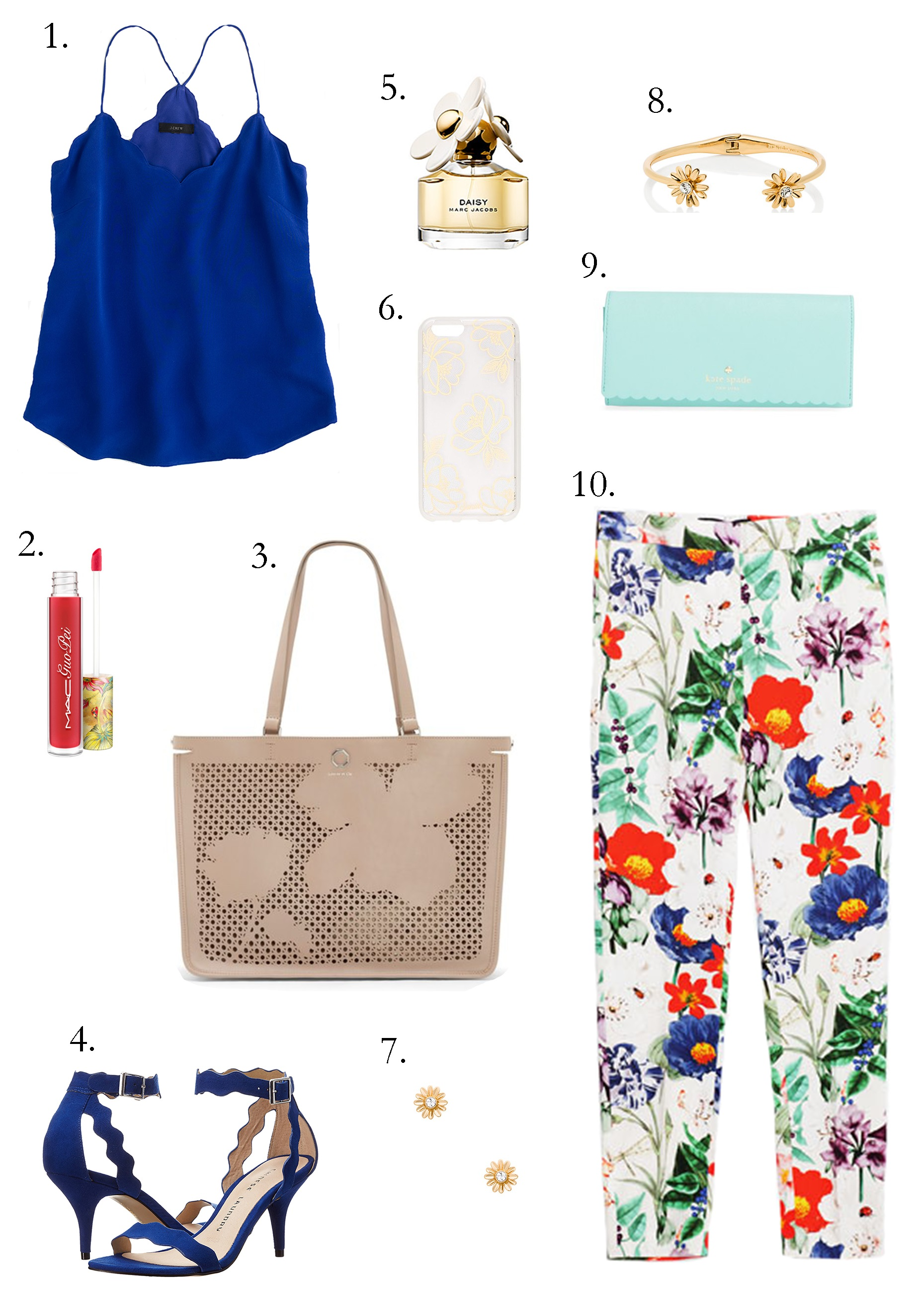 what to wear flowers