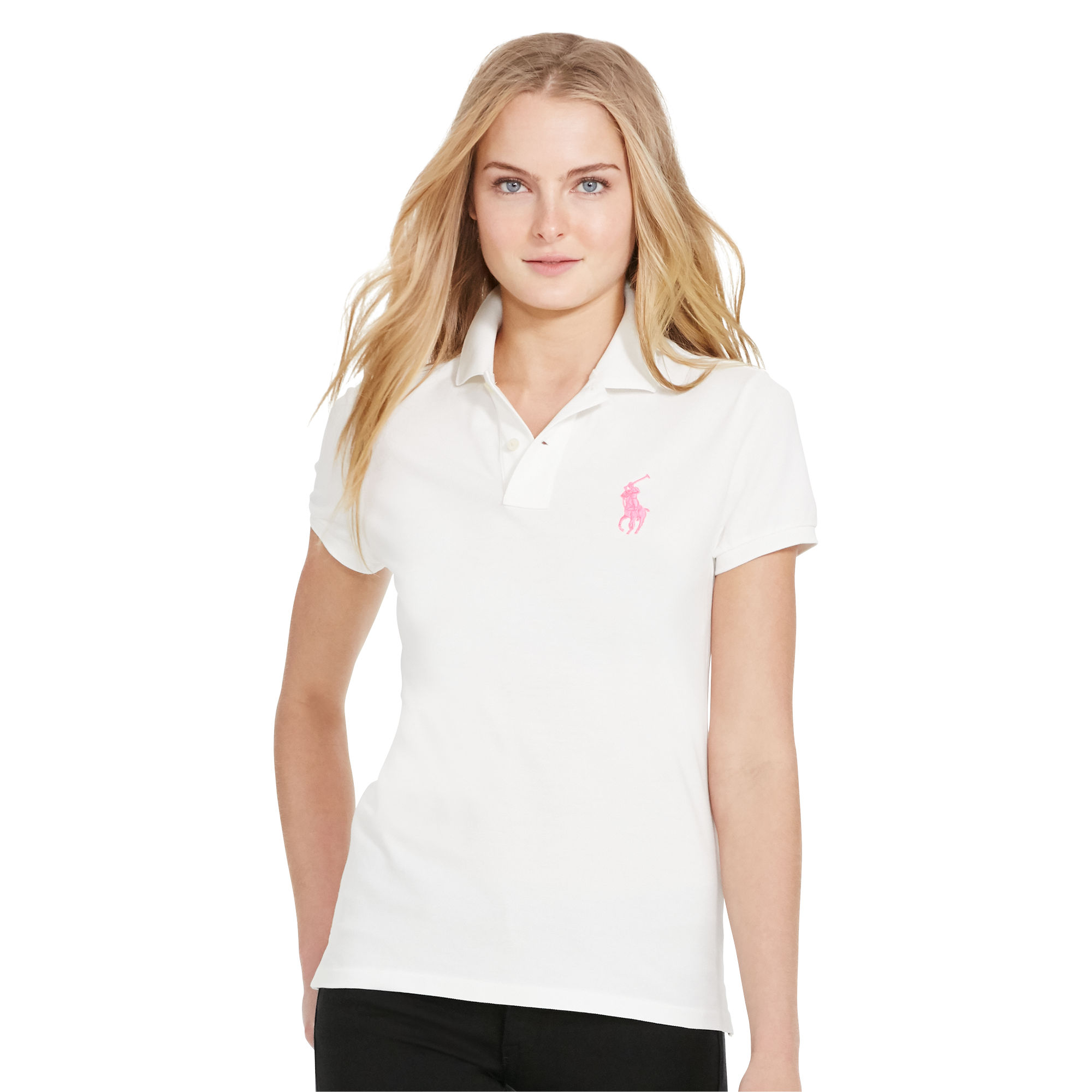 Pink Pony Cotton Polo